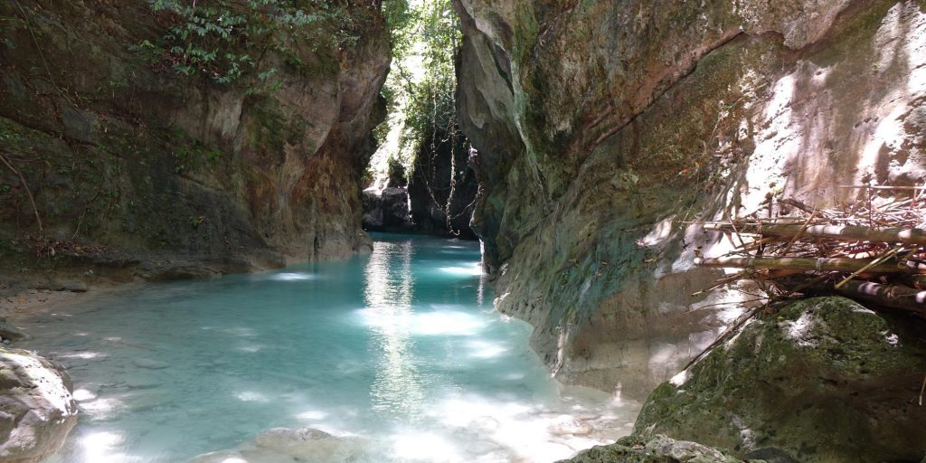 Canyoneering Kawasan in Badian and Alegria Cebu