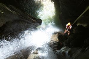 Canyoning Montaneza Falls Cebu
