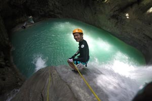 Canyoning Tison Falls Cebu