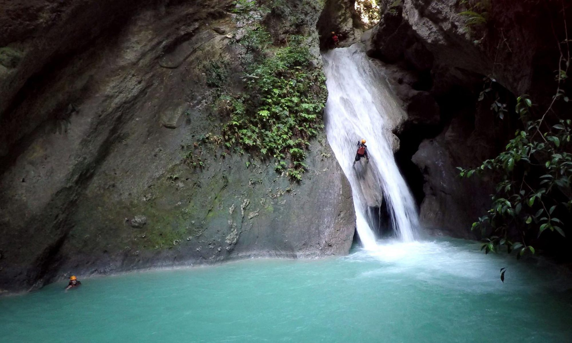 Canyoning at Tison fall Cebu Philippines