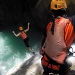 Canyoning at Tison Falls