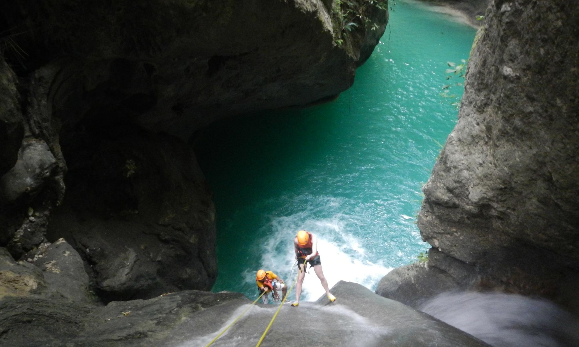 Canyoning Tours at Tison Falls Cebu Philippines