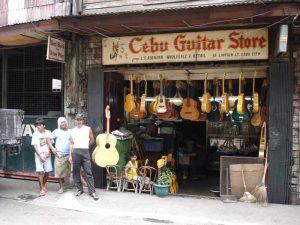 Guitar store in Cebu City