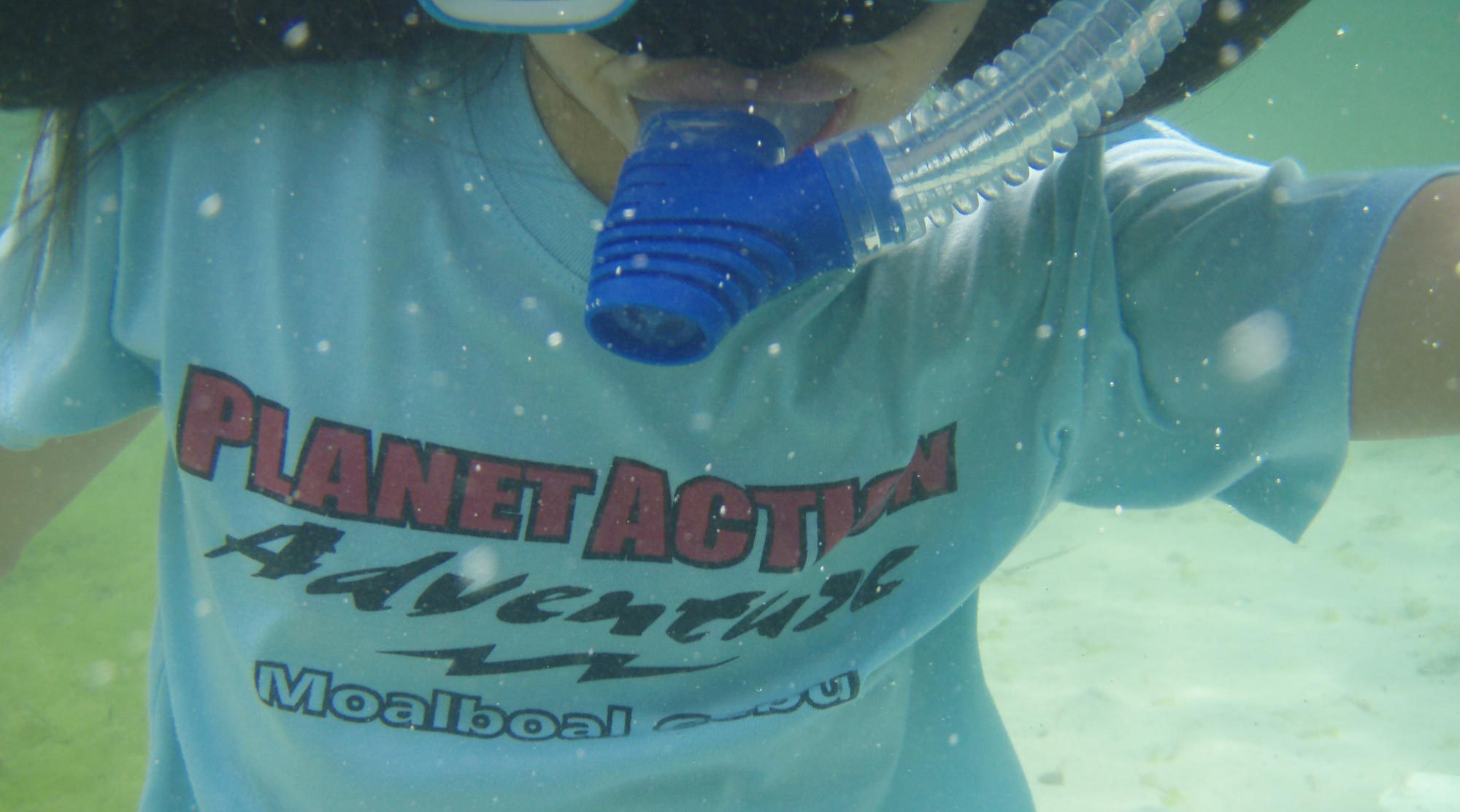 Water sport, diving and snorkeling in Moalboal