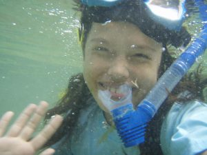 Snorkeling at Moalboal House reef