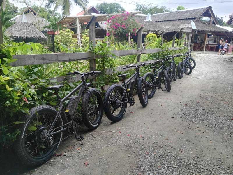 E-Fat Bike has 4 in wide wheels
