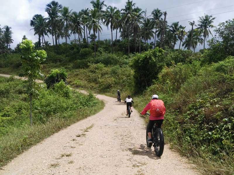 Electric Mountain bike Tours in Moalboal