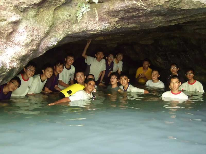 Visit Cave Busay in Moalboal