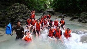 Enjoy the fresh water pools at Kawasan National Park